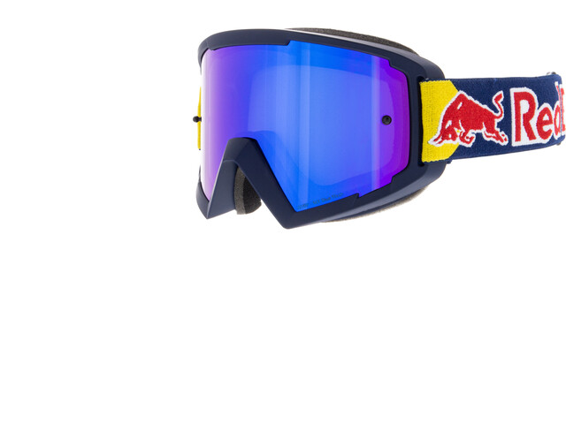 Red Bull SPECT Whip Lunettes de protection, dark blue/blue flash/grey with blue mirror